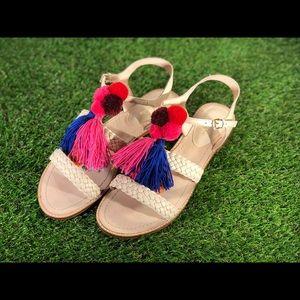Kate Spade New York Sunset Tassel Flat Sandal